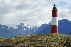 Lighthouse, Beagle Channel, Argentina Royalty Free Stock Photos