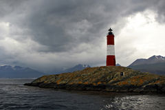 Lighthouse on the Beagle Channel Royalty Free Stock Image