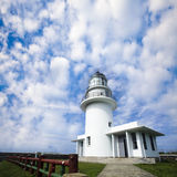 Lighthouse with beautiful sky Stock Images