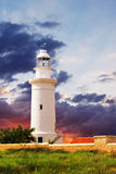 Lighthouse and beautiful sky sunset. Stock Photography