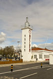 Lighthouse of the Belem Ferry Terminal Royalty Free Stock Photos