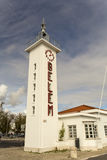Lighthouse of the Belem Ferry Terminal Royalty Free Stock Photo