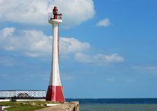 The Lighthouse Of Belize Stock Images