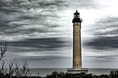 Lighthouse - Biarritz - France. Lighthouse of Biarritz Stock Photography