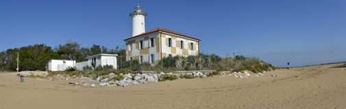 Lighthouse in Bibione Stock Photo