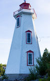Lighthouse. Big Tube Lighthouse on Lake Huron in Tobermory, Ontario, Canada Stock Images