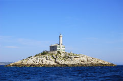 Lighthouse Blitvenica Stock Photo