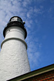 Lighthouse and blue sky Stock Photography