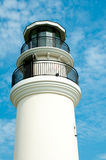 Lighthouse in blue sky Royalty Free Stock Photos