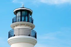 Lighthouse in blue sky Stock Photos