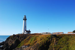 Pigeon Point Lighthouse, Pescadero, California, USA Stock Photography