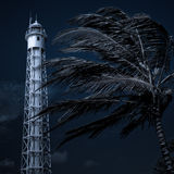Lighthouse Blues Stock Photography