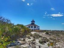 Lighthouse on Boca Grande Stock Images