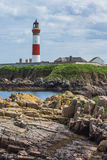 Lighthouse at Boddam UK Scotland Stock Image