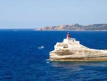 The Lighthouse of Bonifacio Stock Photos