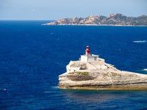The Lighthouse of Bonifacio Stock Photography
