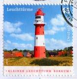 Lighthouse in Borkum Stock Photos