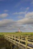Lighthouse and Bridge stock photos