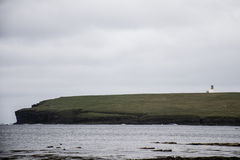 Lighthouse Brough of Birsay Island Orkney Scotland UK Seaside Stock Photography