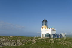 Lighthouse, Brough of Birsay Royalty Free Stock Photography
