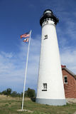 Lighthouse building Royalty Free Stock Photography