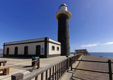 Lighthouse building in the Jandia. Fuerteventura island Royalty Free Stock Images