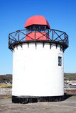 Lighthouse at Burry Port Stock Images