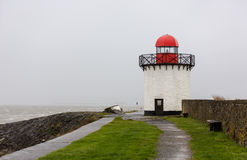 Lighthouse in Burry Port Harbour, Burry Port Royalty Free Stock Images