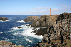 Lighthouse, of Lewis, Hebrides Royalty Free Stock Images