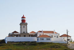 Lighthouse in Cabo da Roca Royalty Free Stock Image