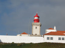 Lighthouse. In Cabo da Roca, Portugal Royalty Free Stock Photography