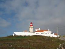 Lighthouse. In Cabo da Roca, Portugal Stock Photos