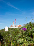 The Lighthouse of Cabo da Roca Stock Images