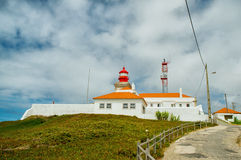 Lighthouse, Cabo da Roca, Portugal Royalty Free Stock Image