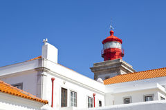 Lighthouse at Cabo da Roca, Portugal Stock Photography