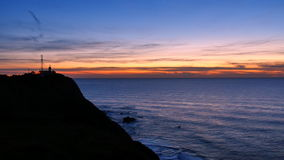 Lighthouse at Cabo da Roca in Portugal stock video