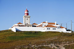 Lighthouse of cabo da Roca, Portugal Royalty Free Stock Image
