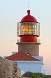 Lighthouse at Cabo de Sao Vicente Stock Image