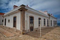 Lighthouse of Cabo de Sao Vicente, Sagres,Algarve,Portugal Stock Image