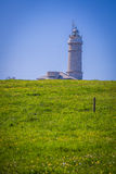 Lighthouse of Cabo Mayor. Santander. Royalty Free Stock Images