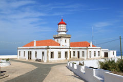 Lighthouse of the Cabo Mondego, Figueira da Foz stock images