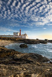 Lighthouse in Cabo Raso, Portugal. Lighthouse in Cabo Raso, Cascais, Portugal Royalty Free Stock Image