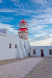Lighthouse of Cabo Sao Vicente, Sagres, Portugal Stock Image