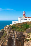 Lighthouse of Cabo Sao Vicente, Sagres, Portugal Stock Images