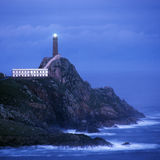 Lighthouse, Cabo Vilan, Stock Image