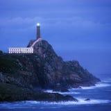 Lighthouse, Cabo Vilan, Stock Image