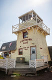 Lighthouse cafe in North Rustico Stock Photo