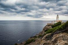 Lighthouse Cala Ratjada Royalty Free Stock Photography