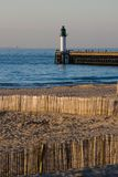 Lighthouse Calais France Stock Image