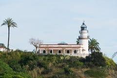 Lighthouse Calella Royalty Free Stock Photos